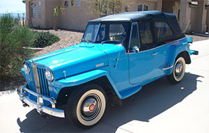 Jeep Jeepster, 1948 год